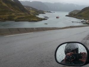 Mit dem Probiker KX5 am Nordkap